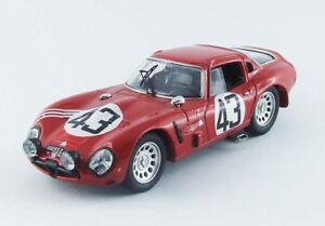 【送料無料】模型車 スポーツカー アルファロメオルマン#ベストモデルalfa romeo tz2 le mans 1965 zeccolirosinski 43 best 143 be9500 model