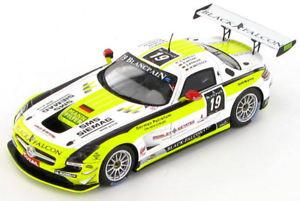 【送料無料】模型車 スポーツカー メルセデス#スパmercedes sls amg 19 spa 24hrs 2012 143 sb034