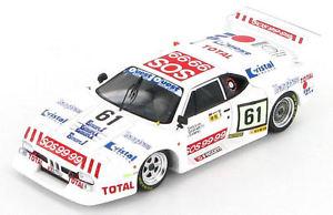 【送料無料】模型車 スポーツカー #ルマンbmw m1 61 le mans 1982 143 s1585