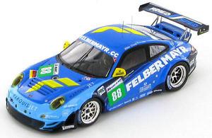 【送料無料】模型車 スポーツカー ポルシェグアテマラ#ルマンporsche 911 997 gt3 rsr felbermayr 88 le mans 2011 143 s3420