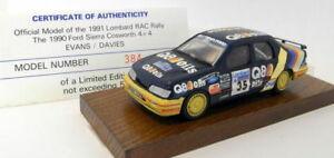 【送料無料】模型車 スポーツカー スケールラリーシエラコスワースmotorpro 143 scale resin pro8 1991 rac rally sierra cosworth 4x4 384 of 500