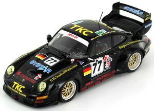 【送料無料】模型車 スポーツカー ポルシェグアテマラモータースポーツ#ルマンporsche 911 993 gt2 siekel motorsport 77 le mans 1996 143 s4447