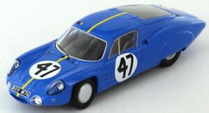 【送料無料】模型車 スポーツカー アルパインルノービアンキルマンスパークalpine renault m64 vinatier bianchi le mans 1964 143 spark s5681