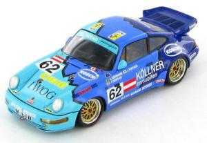 【送料無料】模型車 スポーツカー ポルシェカレラカップ#ルマンスパークporsche 911 carrera 2 cup 62 le mans 1993 143 spark s2075