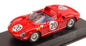 【送料無料】模型車 スポーツカー フェラーリ#ルマンアートモデルアートメートルferrari 275 p 20 winner le mans 1964 guichetvaccarella 143 art model art154 m