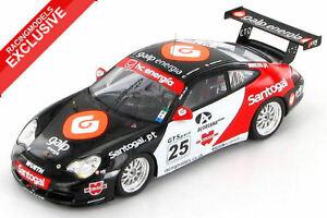【送料無料】模型車 スポーツカー グアテマラエスピリトサントブラボースペイングアテマラカップ listingporsche 911 996 gt3 espirito santo bravo spanish gt cup 2005 143 exclusive