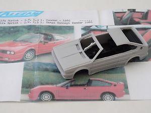 【送料無料】模型車 zender スポーツカー 1,5l モデルアルファロメオスプリントタルガchestnut models 143 1986 alfa romeo sprint qv 1,5l targa zender 1986, ガンキング:5e816211 --- sunward.msk.ru