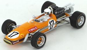 【送料無料】模型車 スポーツカー ブラバムアフリカグランプリスパークbrabham bt24 sam tingle south african gp 1969 143 spark s5255