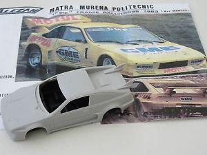 【送料無料】模型車 スポーツカー モデルモチュール listingchestnut models 143 matra murena motul rallycross 1983