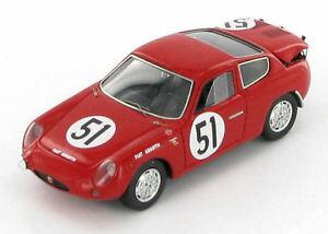 【送料無料】模型車 スポーツカー abarth 700sクーペ51レ1962143s1321abarth 700s coupe 51 le mans 1962 143 s1321