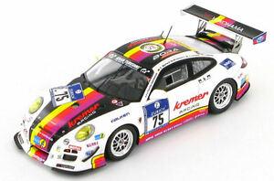 【送料無料】模型車 スポーツカー ポルシェ911997gt3クレマー75 nurburgring 242013 143sg093porsche 911 997 gt3 kremer racing 75 nurburgring 24hrs 2013 143 sg093