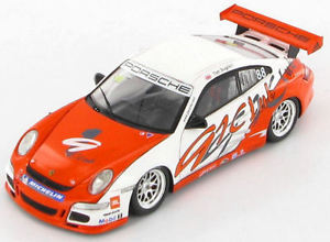 【送料無料】模型車 スポーツカー ポルシェ911 gt3ティムサグデンアジアカップ2007143  s1906porsche 911 gt3 tim sugden winner asia cup 2007 143 s1906
