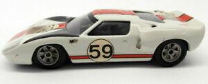 【送料無料】模型車 スポーツカー 143ホワイトメタル20mar2018f59gt40レーシングカーunbranded 143 scale white metal 20mar2018f 59 ford gt40 race car
