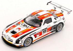 【送料無料】模型車 スポーツカー メルセデスsls amg15スパ242011143 sb024mercedes sls amg 15 spa 24hrs 2011 143 sb024