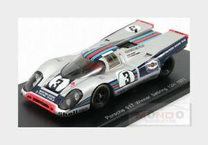 【送料無料】模型車 スポーツカー ポルシェ917312hセブリング1971モダンvelford glarousse spark 143 43se71porsche 917 3 winner 12h sebring 1971 velford glarousse spark 143