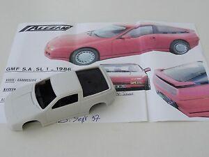 【送料無料】模型車 スポーツカー モデルルノーchestnut models 143 sl1 v6 gmf renault 1986