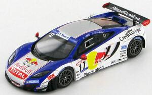 【送料無料】模型車 スポーツカー マクラーレンローブフランスツアーmclaren mp412c loeb vannelet french gt tour 2012 143 sf067
