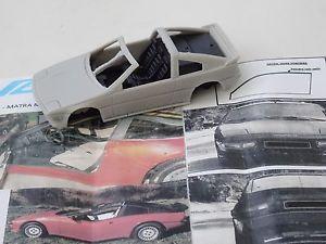 【送料無料】模型車 スポーツカー モデルchestnut models 143 matra murena s decouvrable chapron