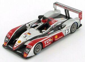 【送料無料】模型車 スポーツカー アウディr103ルマン2007 143 s0683audi r10 3 le mans 2007 143 s0683