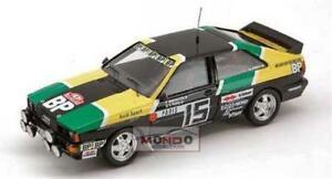 【送料無料】模型車 スポーツカー アウディクワトロカルロaudi quattro n15 mcarlo 1981 143 trofeu tf1614