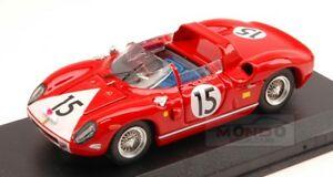 【送料無料】模型車 スポーツカー フェラーリ#ルマンアートモデルアートferrari 330 p 15 retired le mans 1964 rodriguezhudson 143 art model art148 mo