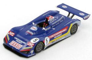 【送料無料】模型車 スポーツカー プジョークモエリックpeugeot 905 spider eric helary 1992 143 s1275