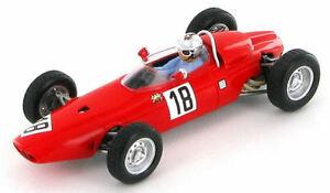【送料無料】模型車 スポーツカー グランプリドイツbrm p57 giancarlo baghetti gp germany 1964 143 s1153