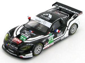 【送料無料】模型車 スポーツカー シボレーコルベットリュックアルファン#ルマンchevrolet corvette c6r luc alphand 73 le mans 2010 143 s2578