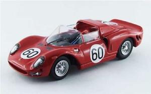 【送料無料】模型車 スポーツカー フェラーリモンツァ#ベストモデルferrari 330 p2 monza 1965 surteenscarfiotti 60 best 143 be9534 model