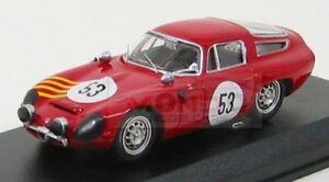 【送料無料】模型車 スポーツカー アルファロメオセブリング#ベストモデルalfa romeo tz1 53 sebring 1964 stoddard kaser red best 143 be9190 model