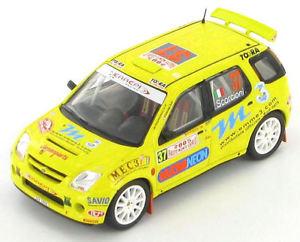 【送料無料】模型車 スポーツカー ラリーモンテカルロsuzuki ignis s1600 scorcioni scorcioni rally monte carlo 2005 143 s0625
