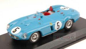 【送料無料】模型車 スポーツカー フェラーリモンツァ#キロアートアートferrari 750 monza 5 3rd 1000 km parigi 1956 picardtrintignant 143 art art236
