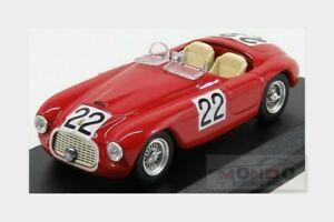 【送料無料】模型車 スポーツカー フェラーリ166mm 20ポンドv12クモ22レ1949chinetti art 143 art0112ferrari 166mm 20l v12 spider 22 winner le mans 1949 chinetti art 143 a