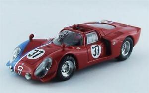 【送料無料】模型車 スポーツカー アルファロメオテストルマン#ベストモデルalfa romeo 332 test le mans 1968 gosselintrosch 37 best 143 be9551 model