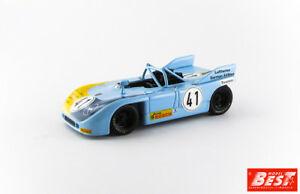 【送料無料】模型車 スポーツカー ポルシェ#ニュルブルクリンクジョストベストモデルporsche 90803 41 2nd nurburgring interserie 1972 rjost best 143 be9627 model