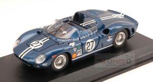 【送料無料】模型車 スポーツカー フェラーリ#リタイヤセブリングアートモデルアートモデルferrari 330 p 27 dnf sebring 1965 kolbfulp 143 art model art221 model
