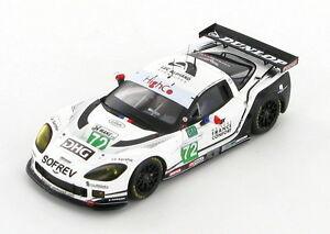 【送料無料】模型車 スポーツカー シボレーコルベットc6r luc alphand72レ2010143s2577chevrolet corvette c6r luc alphand 72 le mans 2010 143 s2577