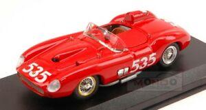 【送料無料】模型車 スポーツカー フェラーリ#ミッレミリアアートモデルアートモードferrari 315 s 535 winner mille miglia 1957 ptaruffi 143 art model art147 mode