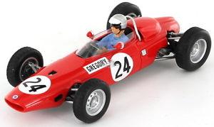 【送料無料】模型車 スポーツカー グレゴリードイツbrm p57 masten gregory german gp 1965 143 s4793