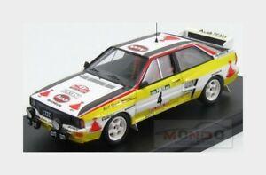 【送料無料】模型車 スポーツカー ポルトガル1984レールgeistdorfer trofeu 143 tfral43アウディquattro4 6thaudi quattro 4 6th rally of portugal 1984 rohrl geistdorfer trof