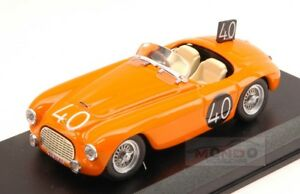 【送料無料】模型車 スポーツカー フェラーリクモ#スパアートアートferrari 166 mm spider 40 8th 24h spa 1949 roosdorpde ridder 143 art art2042
