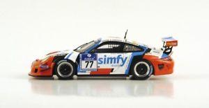 【送料無料】模型車 スポーツカー ポルシェグアテマラカップチームコルシカニュルブルクリンクスパークシングルporsche 911 9972 gt3 cup team teichmann corse nurburgring 2013 spark 143 sg085