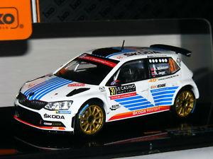 【送料無料】模型車 スポーツカー ネットワークシュコダファビアモンテカルロラリー#ixo ram649 skoda fabia r5 winner wrc2 2017 monte carlo rally 31 143