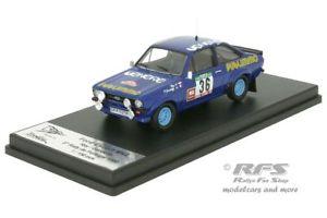 【送料無料】模型車 スポーツカー フォードエスコートラリーポルトガルford escort rs 1800 mk ii publimmo rally portugal 1980 143 trofeu rral 062