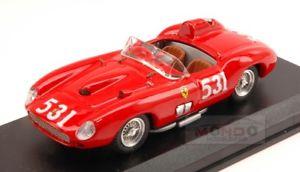 【送料無料】模型車 スポーツカー フェラーリ315 s531mm1957de portagoネルソン143art178モードferrari 315 s 531 fatal accident mm 1957 de portagonelson 143 art art178 mode