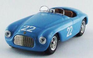 【送料無料】模型車 スポーツカー フェラーリバルケッタ#グランプリモンテカルロアートアートferrari 166 mm barchetta 22 11th prix monte carlo 1952 farnaud 143 art art330