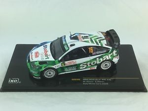 【送料無料】模型車 スポーツカー ixo ford focus 07rs wrc16ラリーモンテカルロ2008mwilson and smartinixo ford focus rs 07 wrc 16 rally monte carlo 2008 mwilson and s