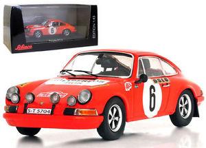 【送料無料】模型車 スポーツカー ポルシェモンテカルロラリースケールschuco porsche 911s monte carlo rally 1970 b waldegaard 143 scale