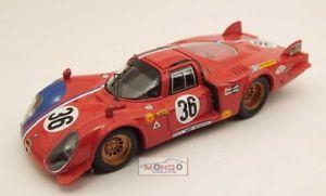 【送料無料】模型車 スポーツカー アルファroemo 332ルマン196936 143ダイカストbe9351モデルカーモデルalfa roemo 332 le mans 1969 36 143 best model be9351 model car diecast