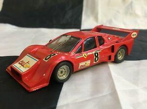 【送料無料】模型車 スポーツカー フェラーリルマンテストモデルカーesdo 143 hand built ferrari 512bb biturbo chateu 24 le mans test 1978 model car